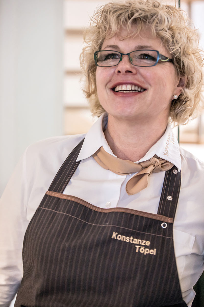 Konstanze Töpel – Kochtrainerin in der Mit-Mach-Küche