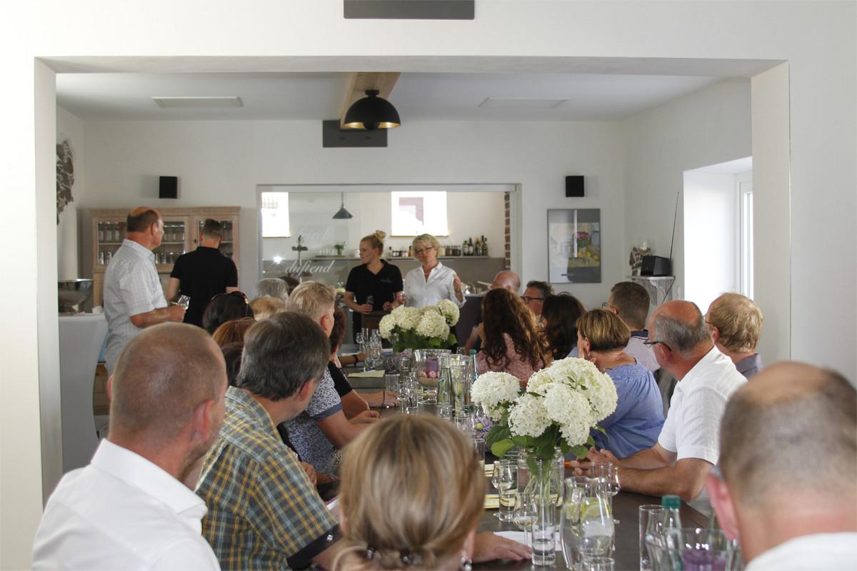 Besondere Events, wie unsere jährliche Weinprobe, bei uns im Gräfenbrücker Eventhof